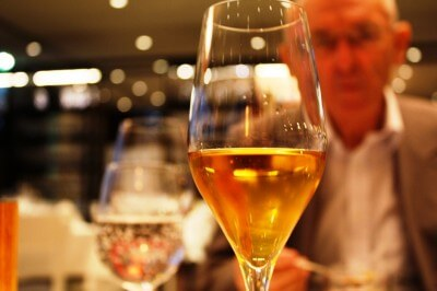 Enjoy a glass of wine in Vienna