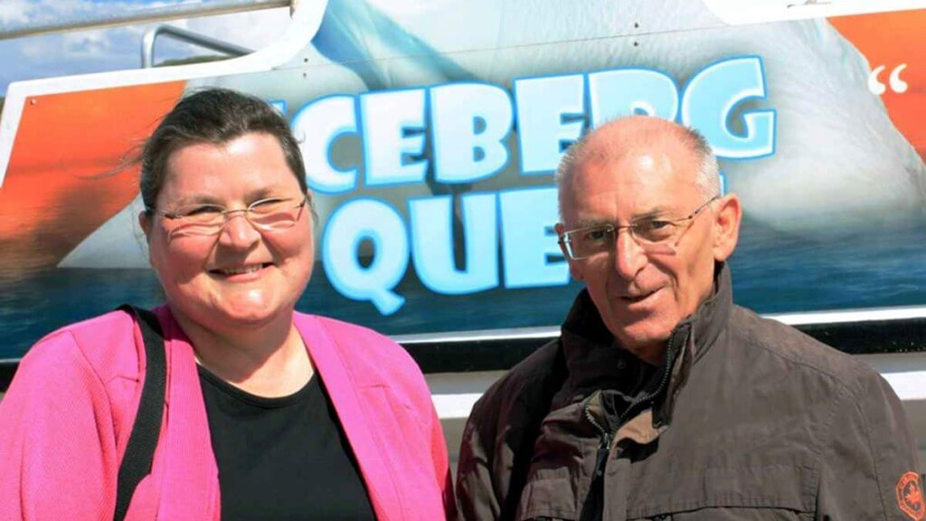 Travel as a couple - whale watching in St. John, Newfoundland