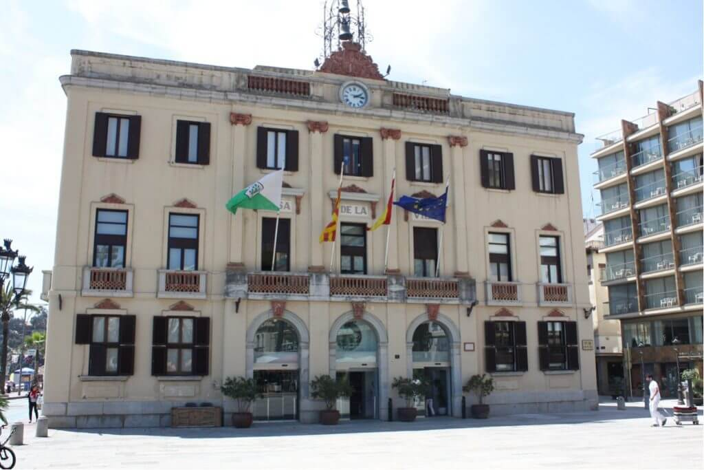 Lloret de Mar sights: the town hall