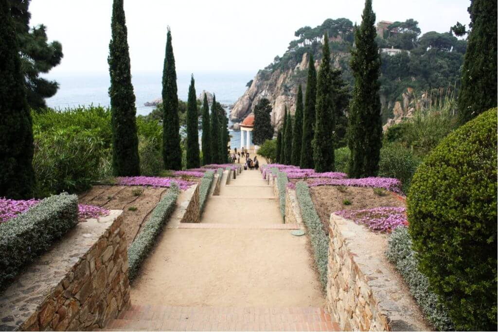 The Jardin Marimurtra in Blanes