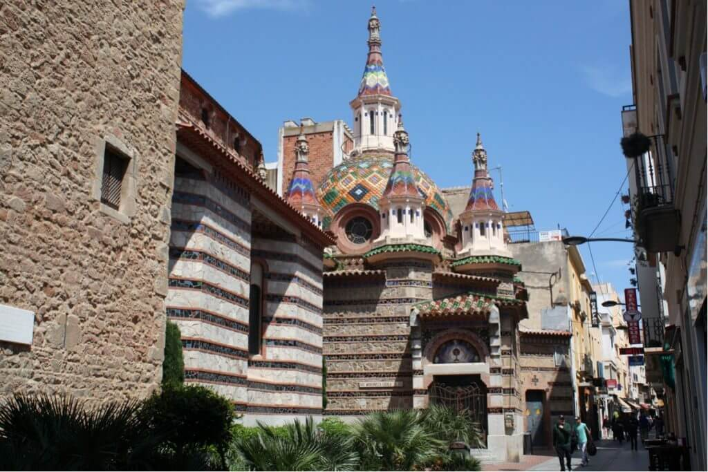 Lloret de Mar sights: the church