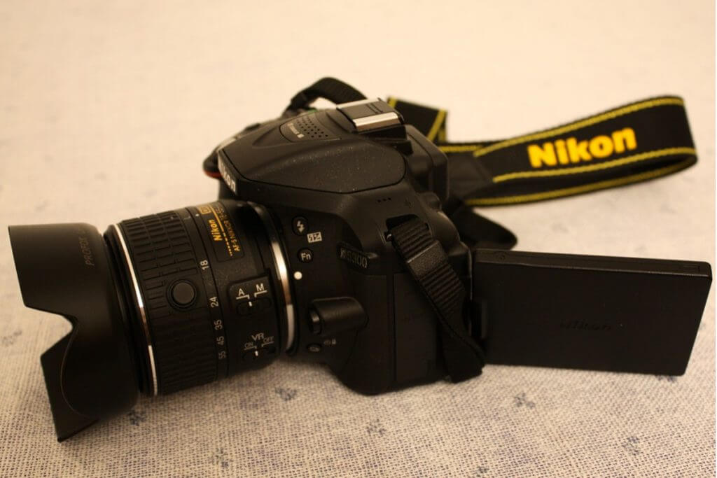 Nikon D5300 Perfect travel logger camera
