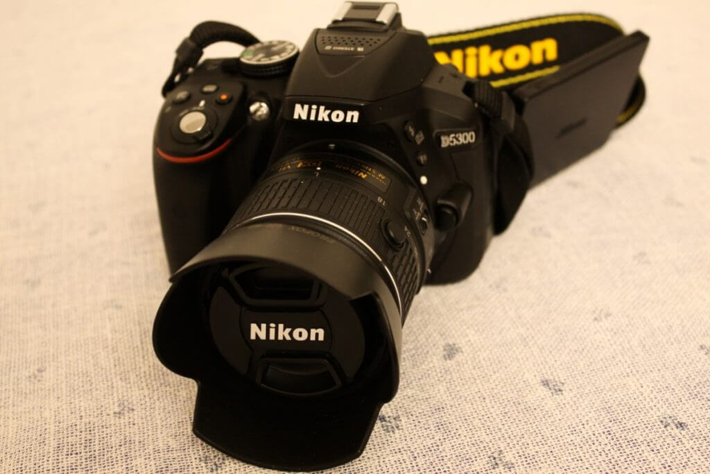 Perfect travel logger camera Nikon D5300