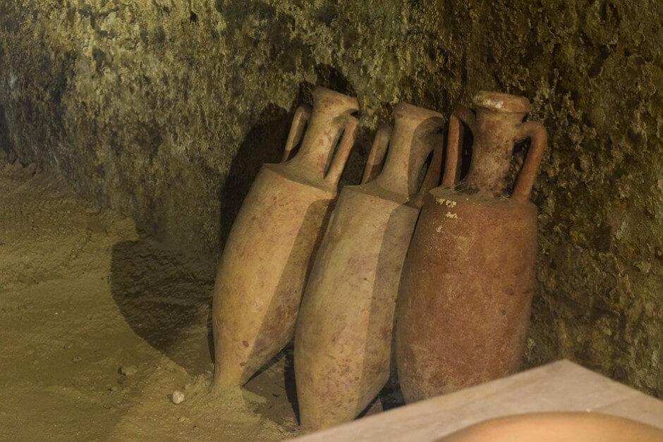 Schon zu römischen Zeiten wurde in Retz im Weinviertel Wein gelagert