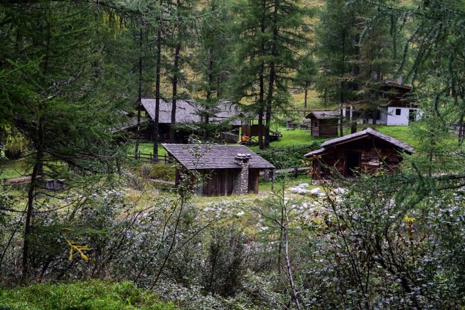Goldgräberdorf Heiligenblut