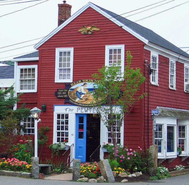 Laden am Bearskin Neck in Rockport