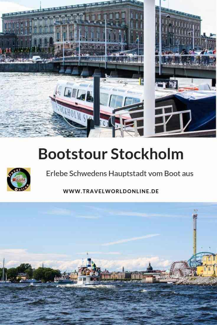 Bootstour Stockholm