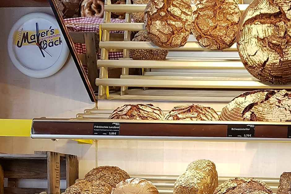 Breads from Mayer's Bäck