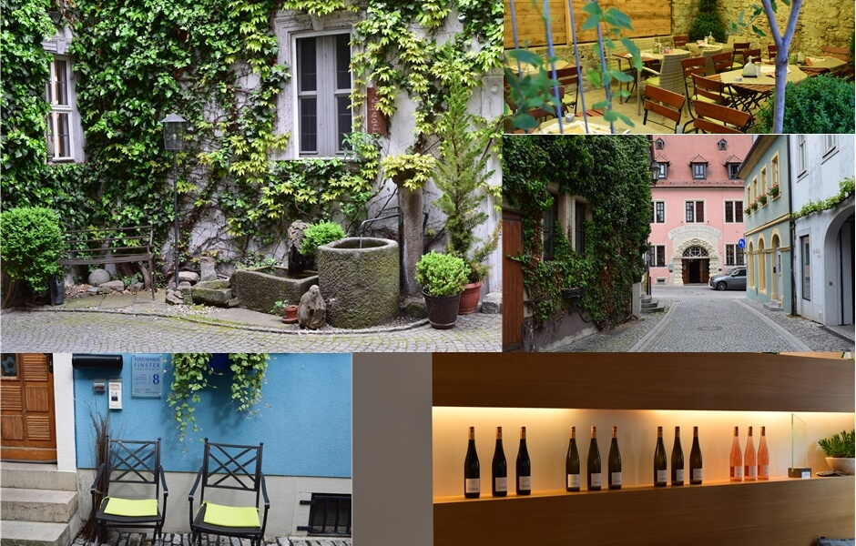 Impressions from Volkach in the Franconian wine region