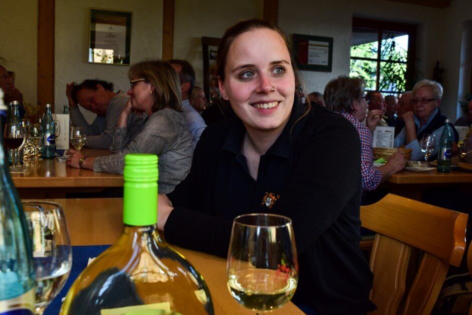 Verena Waigand, one of the best young winemakers in Germany