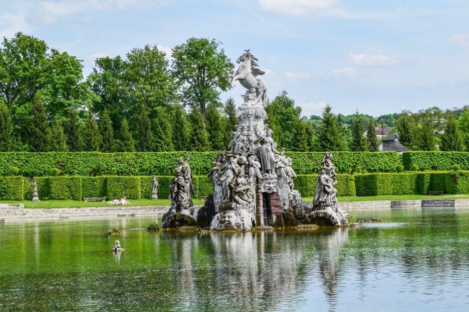 Garten Pracht im Rokokogarten Veitshöchheim