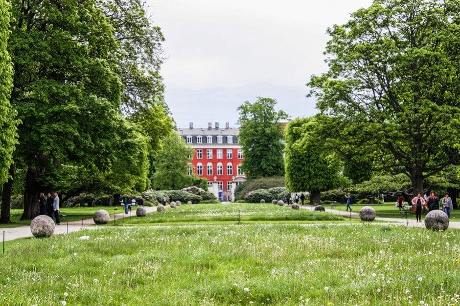 Königsgärten in Kopenhagen