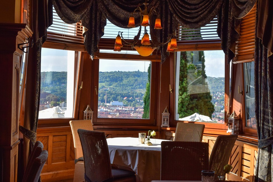 Popular for weddings - bay window with a view