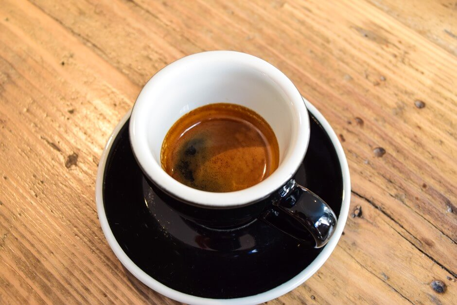A cup of espresso makes you want to enjoy