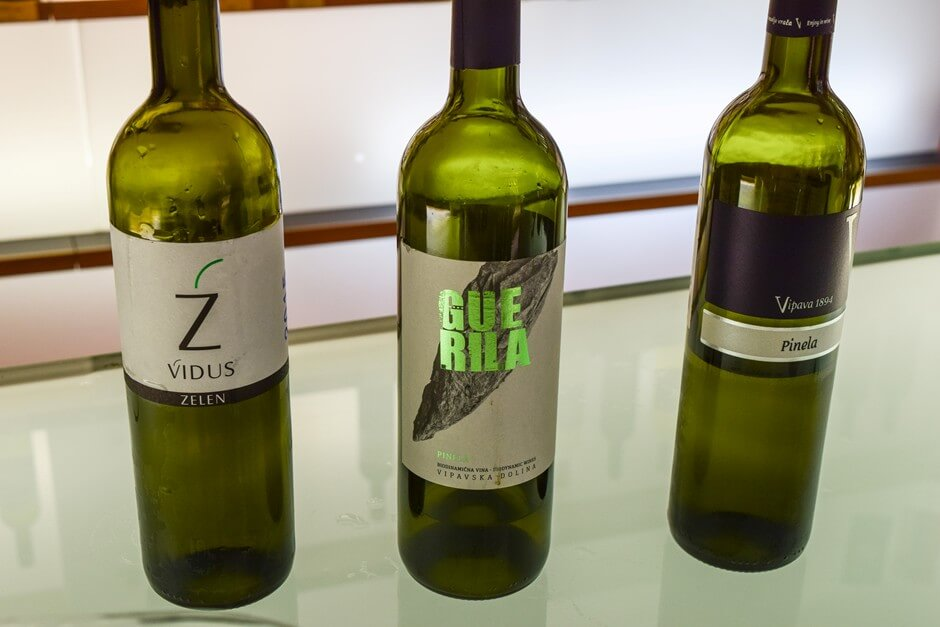Wines from the Vipava Valley Slovenia