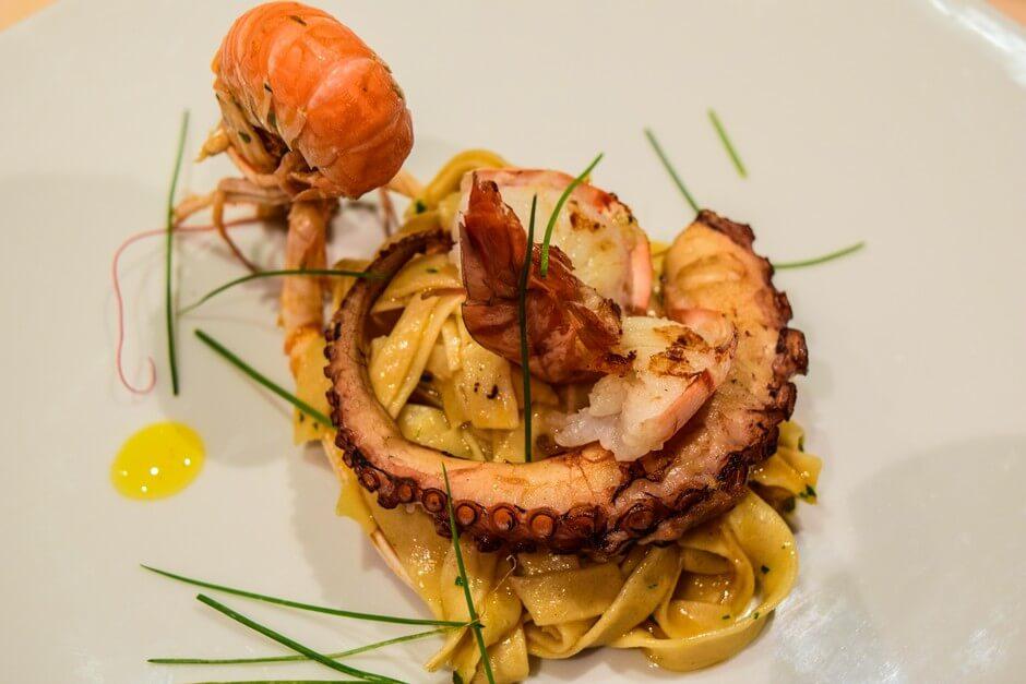 Oktopus in Slowenien