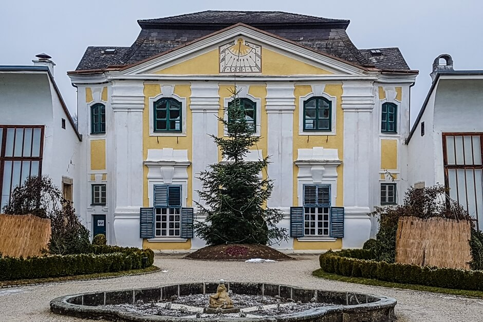 Orangerie in Stift Zwettl