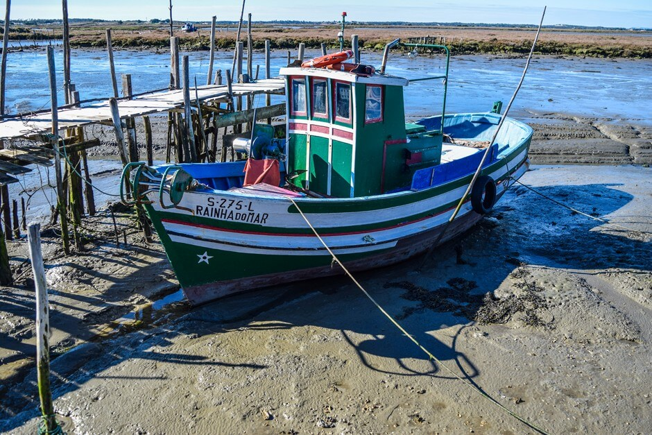 Cais Palafitico, a typical picture on the fishing path Portugal