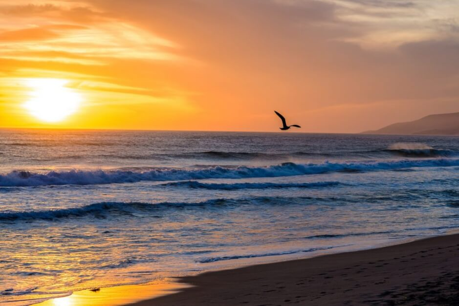 Zuma Beach - one of the most beautiful beaches in California for a beach holiday California
