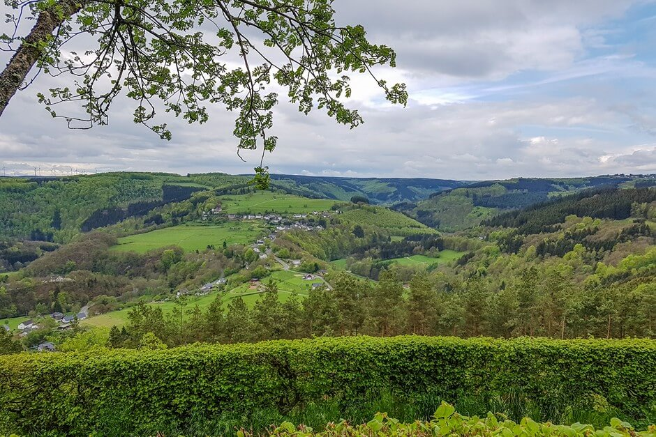 View of the Eifel National Park