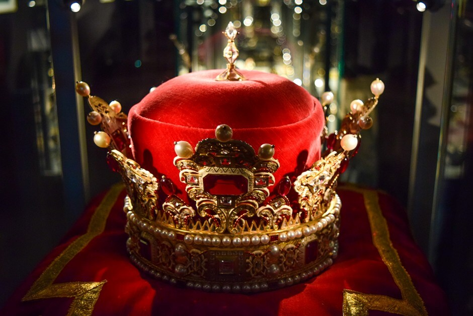 Prince crown in the treasury