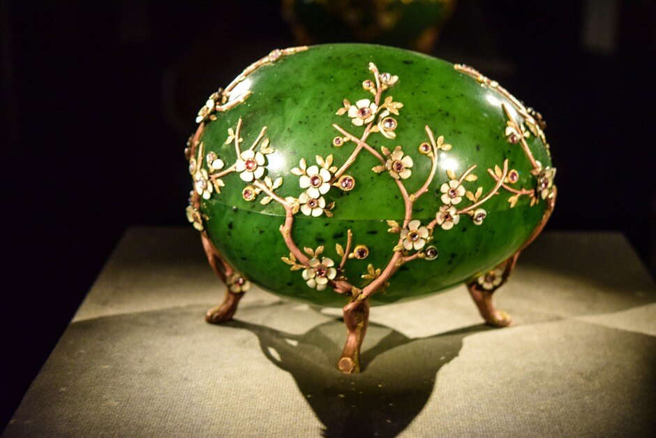 Fabergé egg in the treasury