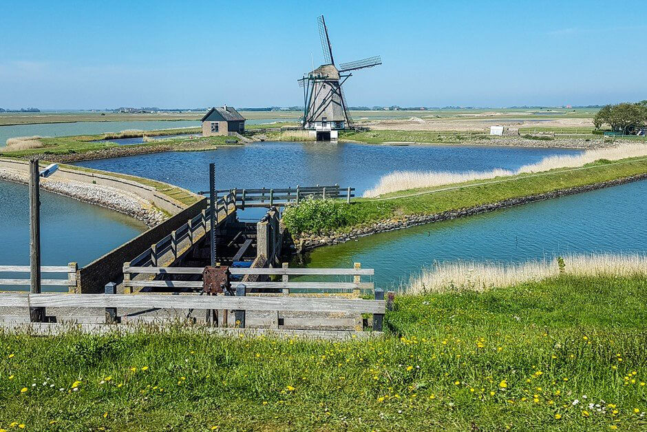 Windmill - one of the sights of Texel