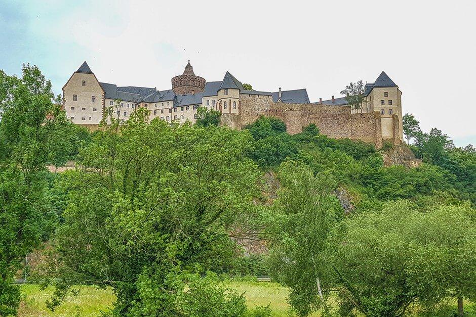 Burg Mildenstein bei Leisnig an der Freiberger Mulde