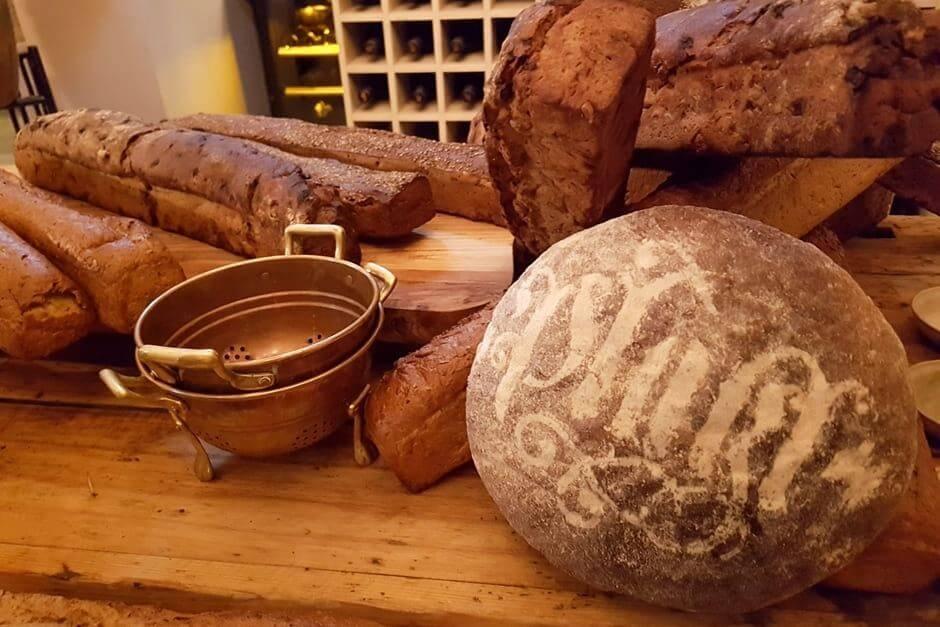 Brotsorten in der Pfistermühle