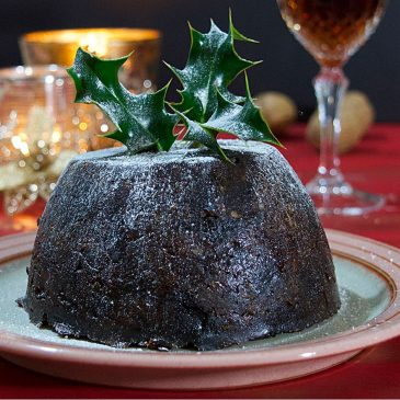 Plum pudding recipe - making Christmas pudding yourself