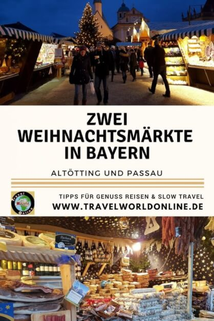 Two Christmas markets in Bavaria