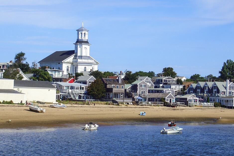 Harbor Beach with the best Provincetown view