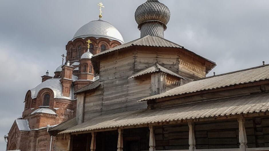 Swijashsk churches at Kazan Russia