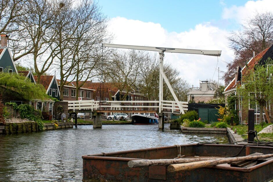 North Holland interesting places - bridge in Edam