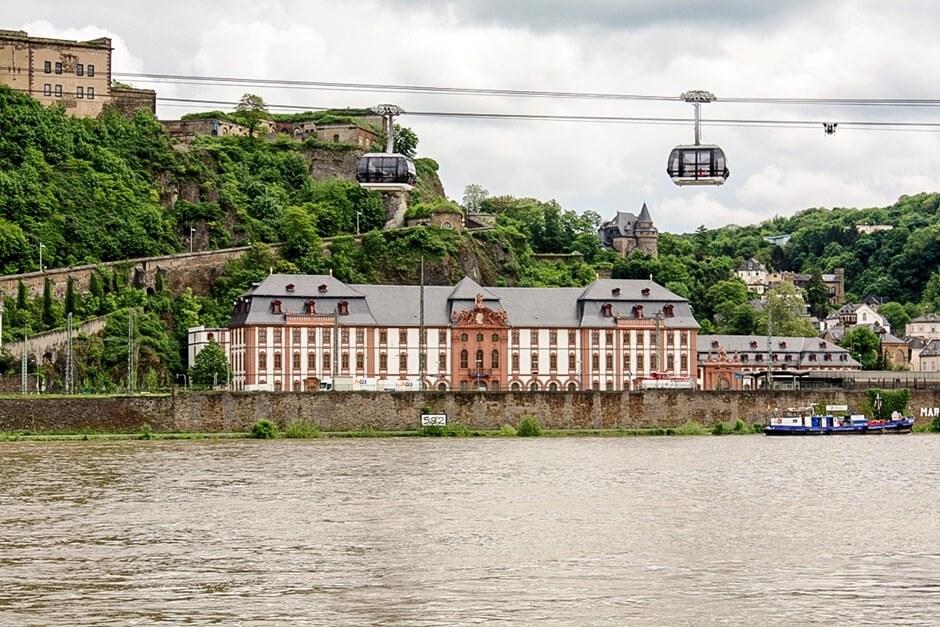 Seilbahn zur Burg Ehrenbreitstein