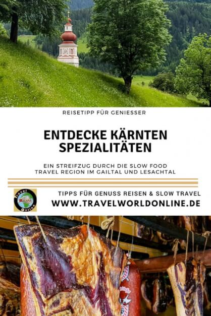 Discover specialties from Carinthia