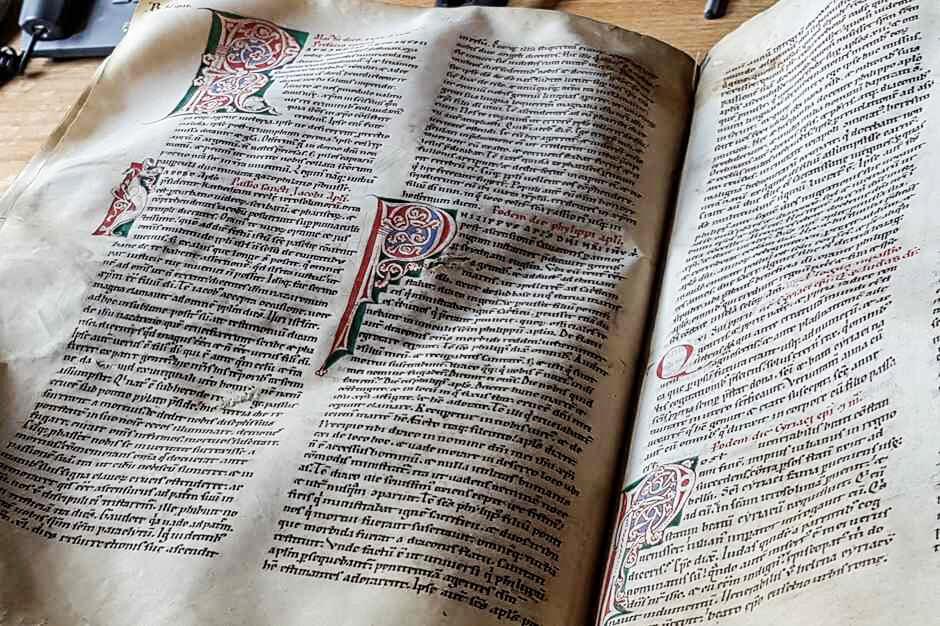 Illuminierte Handschrift