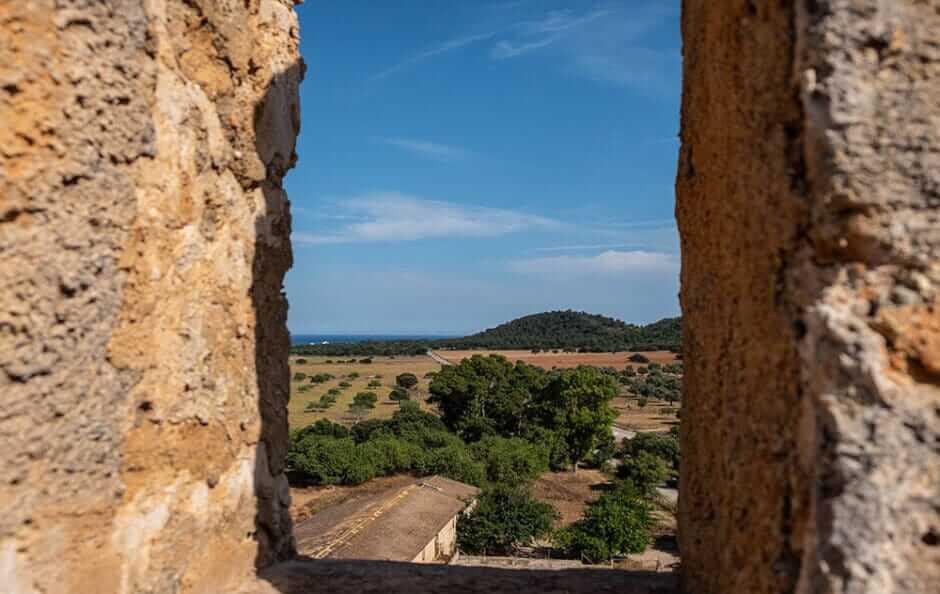 Ausblick vom Torre de Canyamel