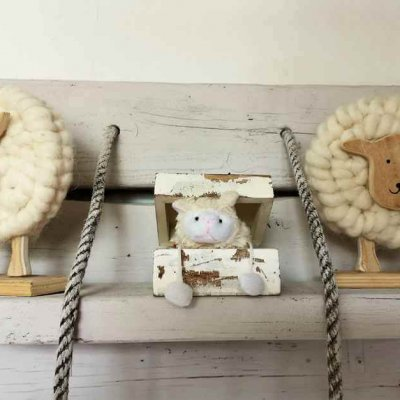 Sheep must not be missing on Texel as a decoration