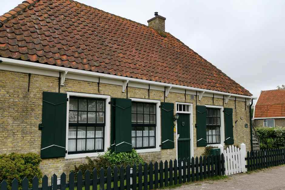 This is how you live in Den Hoorn, sights of Texel