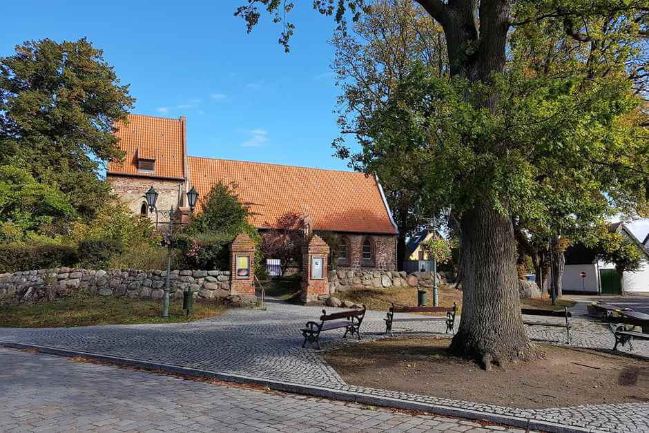 Village green in Koserow - one of the Usedom sights