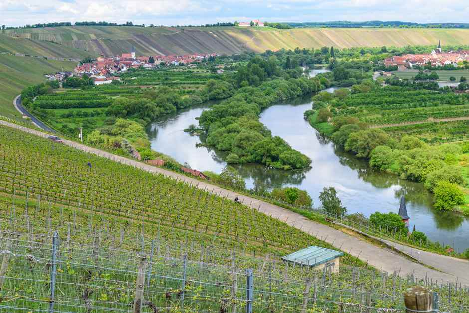 Wine weekend on the Mainschleife - wine towns in Franconia