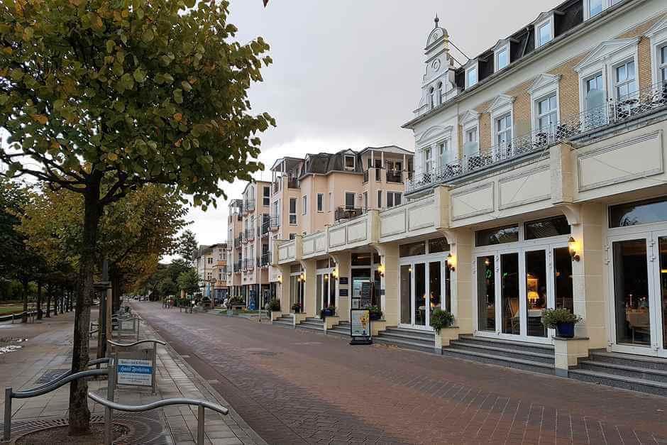 Strandpromenade in Ahlbeck