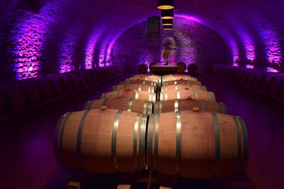 Winzerkeller Sommerach wine locations in Franconia for a wine weekend