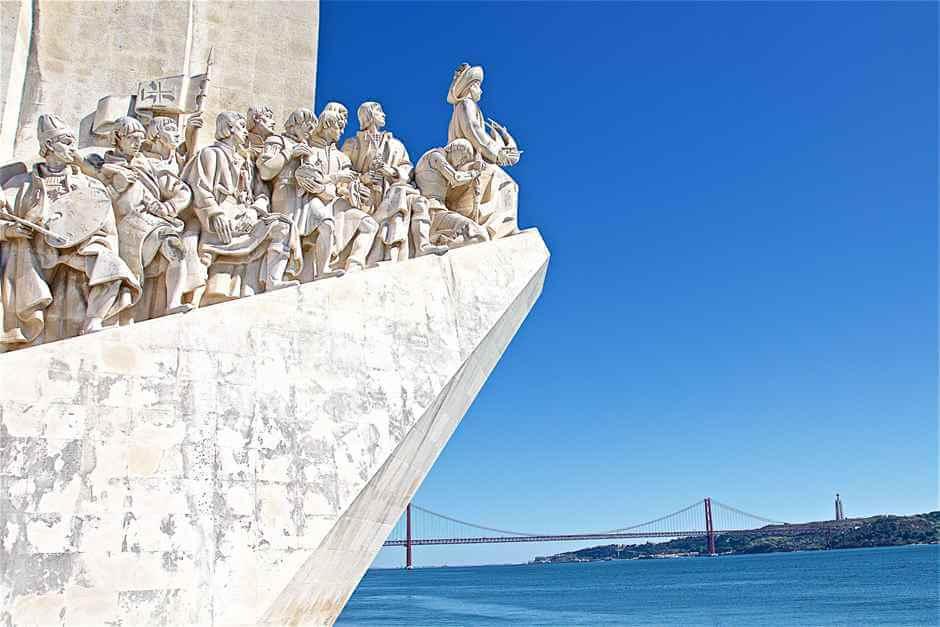Denkmal portugiesischer Seefahrer in Lissabon