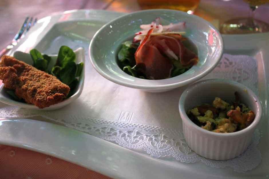 Ein Gabelfrühstück im Florian
