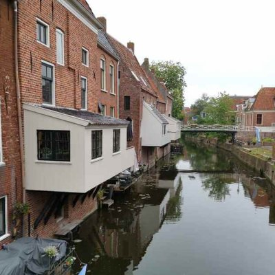 The hanging kitchens of Appingedam - exceptional Dutch North Sea coast