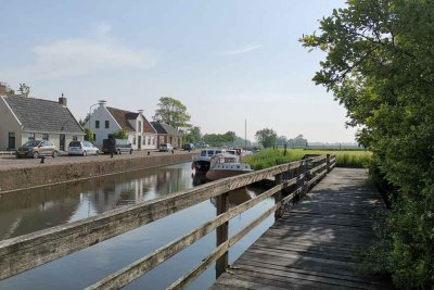 Canal in Eenrum - Dutch North Sea Coast