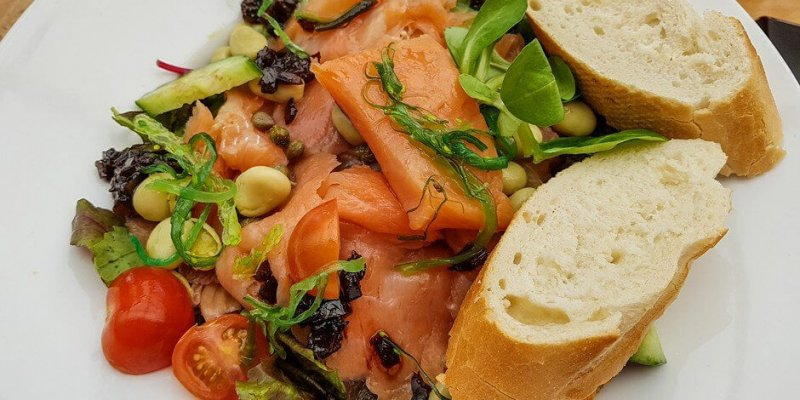 Salmon Salad - Texel Tips for Foodies -