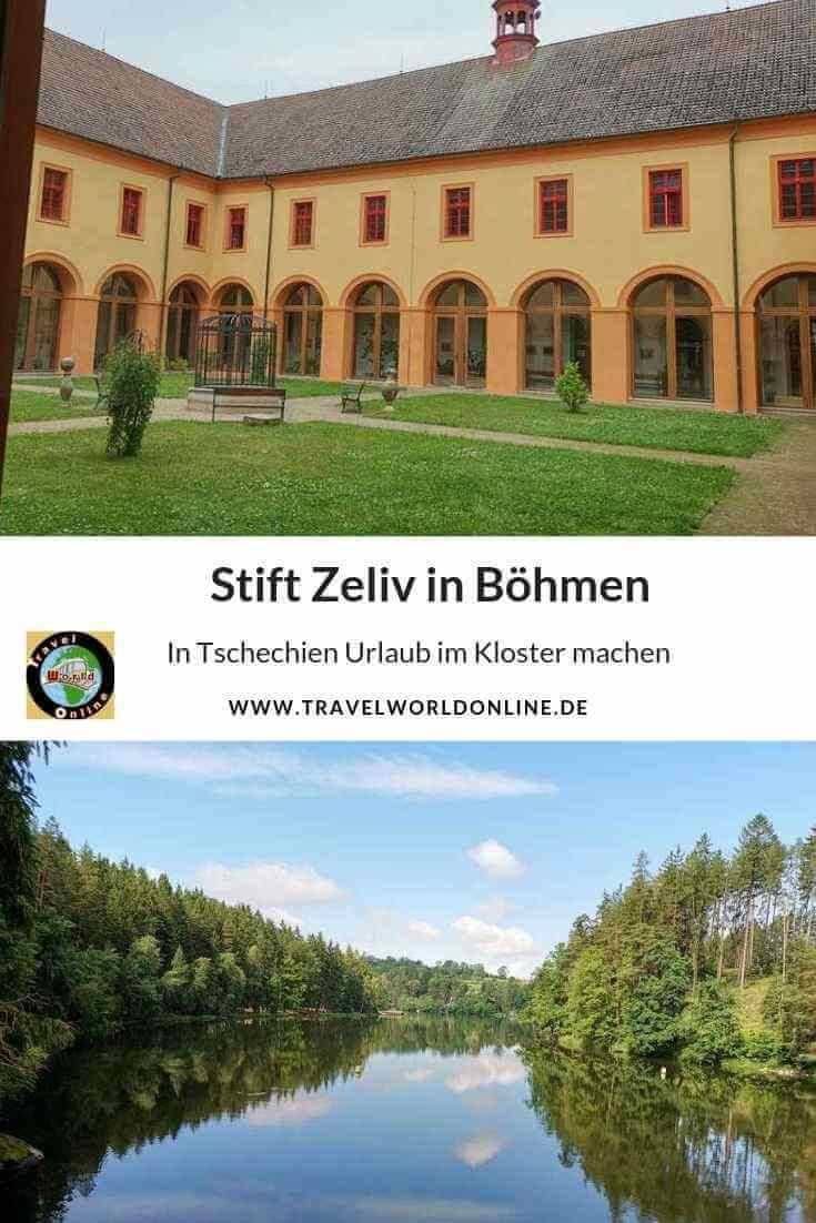 Stift Zeliv in Böhmen für einen Tschechien Urlaub im Kloster